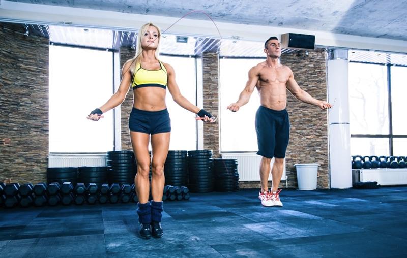 Corde /à Sauter Lourde pour Crossfit Gym /& Home Fitness Workouts Corde /à Sauter r/églable Tbest Corde /à Sauter en Acier de premi/ère qualit/é
