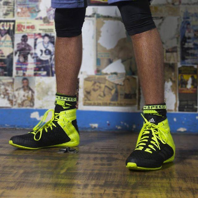 Chaussure Boxe Française en cuir Adidas SFB02 T33: Amazon
