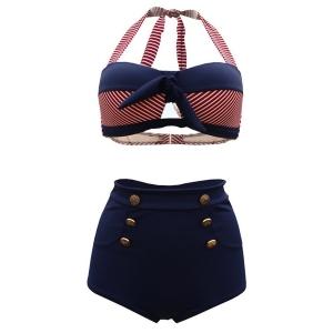 6125028880 Tailloday Vintage Bikini. Il se pourrait que vous ayez du mal à choisir  votre maillot, car vous êtes ronde. Pas de panique, puisque ce modèle est  fait pour ...